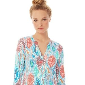 Lilly Pulitzer Odette Tunic XS